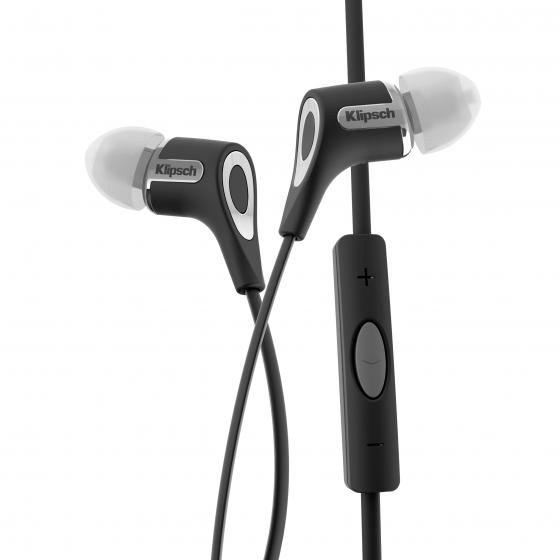 Klipsch R6i In-Ear Headphone Black with Remote for IOS only - Black