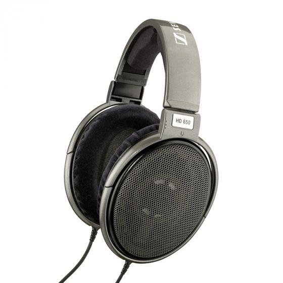 Sennheiser HD 650 Audiophile Open-Back Dynamic Headphones-Grey