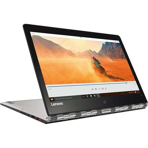 Lenovo Yoga 910 13.8-Inch Convertible Notebook - (Silver) (Intel Core i7-7500U, 8 GB RAM, 256 GB SDD, Windows 10)