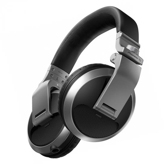 Pioneer HDJ-X5-S Professional DJ Headphone, SILVER