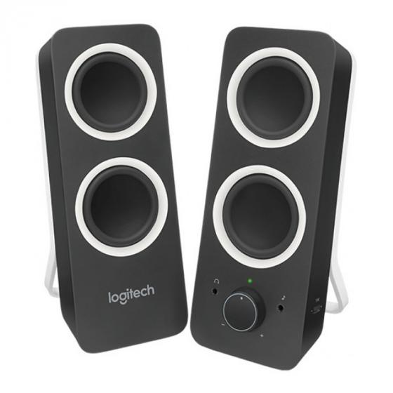Logitech Z200 PC Speakers, Stereo Sound, 10 Watts Peak Power