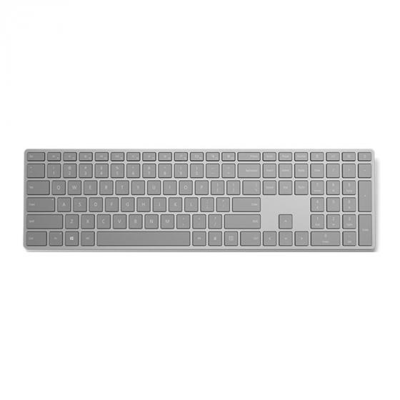 Microsoft Modern Keyboard with Fingerprint ID and Bluetooth Connectivity