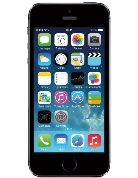 Apple iPhone 5S UK Smartphone - Silver (16GB)