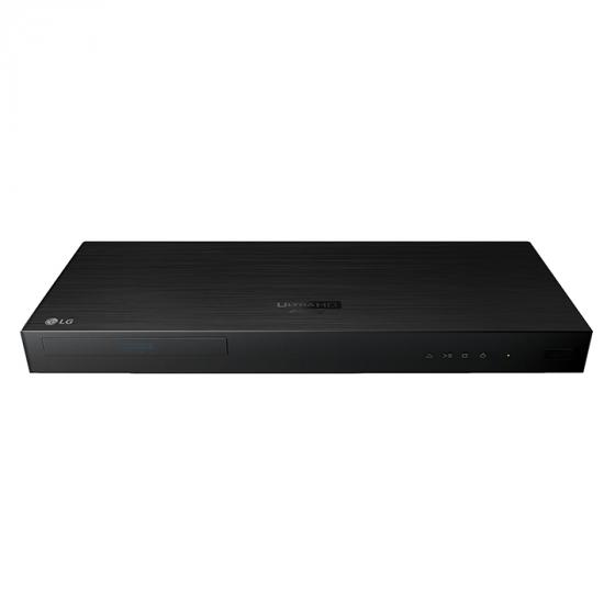 LG UP970 4K Ultra HD HDR Blu-Ray Player - Black