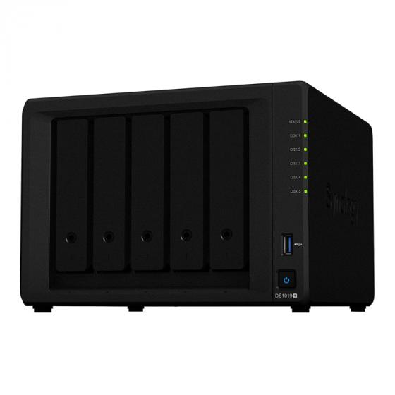Synology DS1019+ 5-Bay Desktop NAS Enclosure