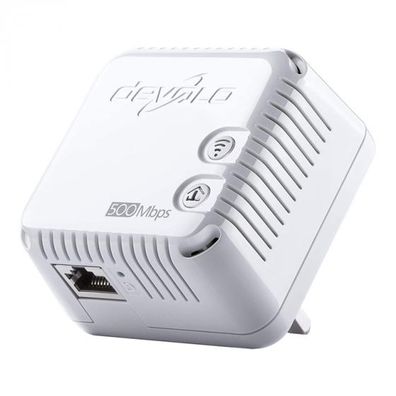 Devolo dLAN 500 Wi-Fi Add-On Powerline Adapter
