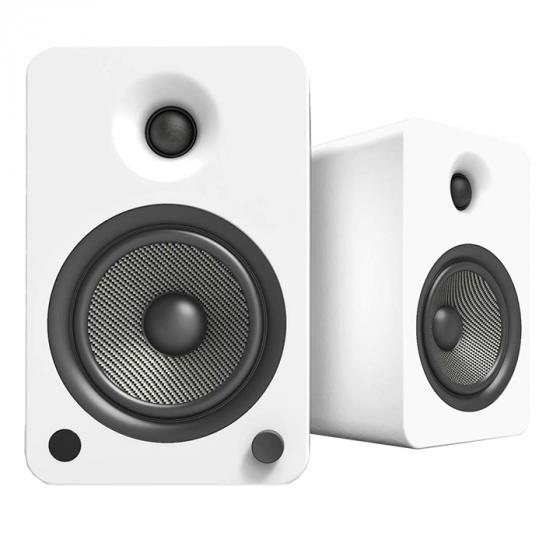 Kanto YU6 Powered Bookshelf Speakers with Bluetooth and Phono Preamp