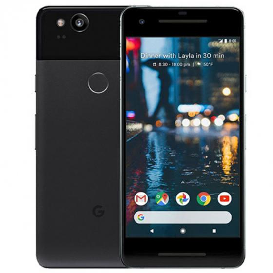 Google Pixel 2 SIM-Free Smartphone in Just Black