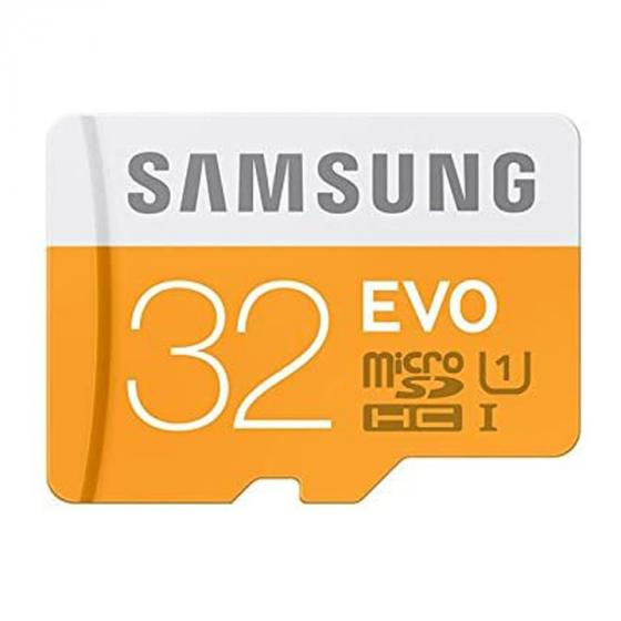 Samsung EVO 32 GB MicroSDHC UHS-I Class 10 Memory Card with SD Adapter