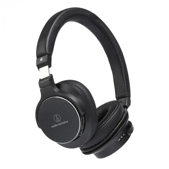 Audio-Technica SR5BTBK High-Resolution Wireless On-Ear Headphones