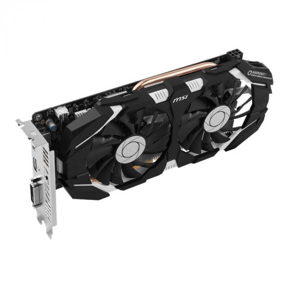 MSI GeForce GTX 1060 6GB 0CV1 GDDR5 PCI Express DP/DVI/HDMI Graphics Card