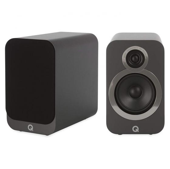 Q Acoustics 3020i Bookshelf Speakers (Pair) (Graphite Grey)