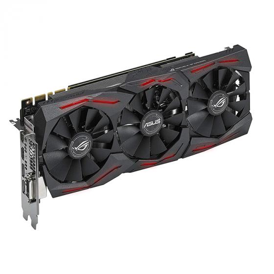 ASUS Nvidia Geforce GTX 1080 Strix A8G Graphics Card (GAMING 8 GB GDDR5) - Black