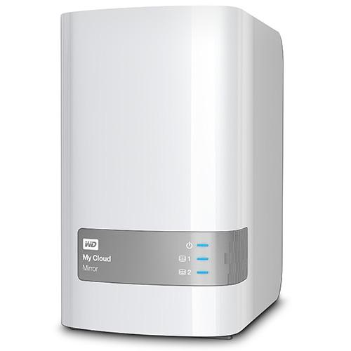 WD My Cloud Mirror 4TB Personal Network Attached Storage