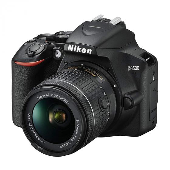 Nikon D3500 DSLR Camera + AF-P DX 18–55 VR Kit