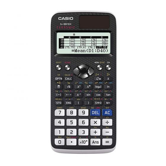 Casio FX-991EX Engineering/Scientific Calculator, Black (European Version)