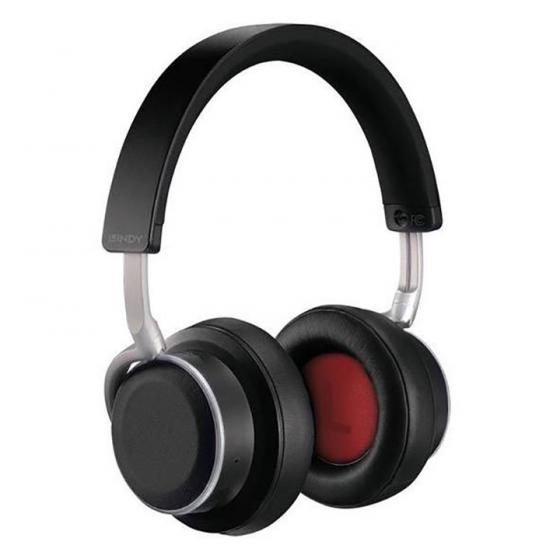 Lindy BNX-100 Bluetooth Wireless Active Noise Cancelling Headphones with aptX