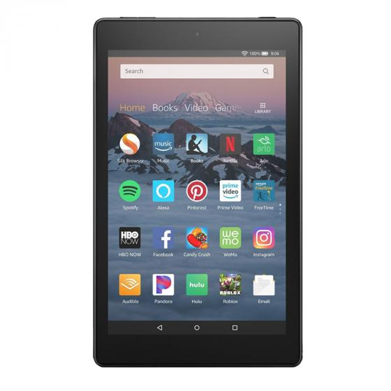 Amazon Fire HD 8 Tablet, 16 GB, Black—with Special Offers