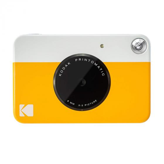 Kodak Printomatic Digital Instant Print Camera (Yellow)
