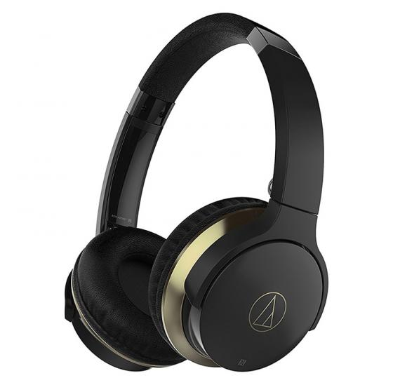 Audio-Technica AR3BTBK On-Ear Bluetooth Headphones - Black