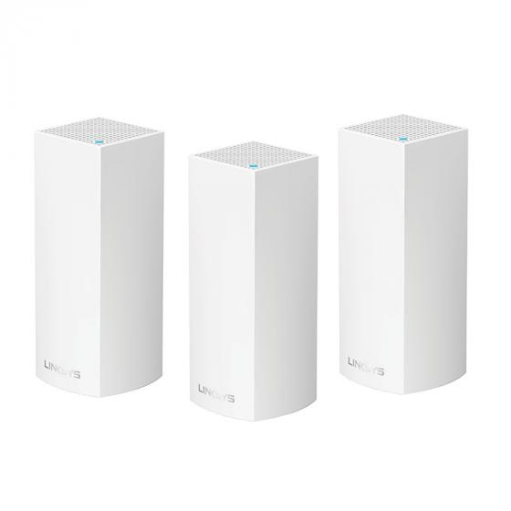 Linksys WHW0303 AC6600 Intelligent Whole Home Mesh Wi-Fi System (Pack of 3)