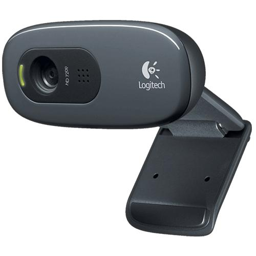 Logitech C270 USB HD Webcam