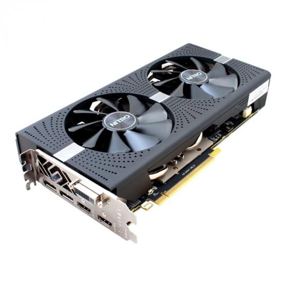 Sapphire Radeon RX 580 NITRO+ 8G GDDR5 DUAL HDMI / DVI-D / DUAL DP with backplate (UEFI) PCI-E Graphics Card