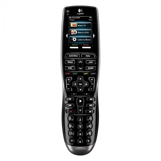 Logitech Harmony 900 Advanced Universal Remote Control with RF capability
