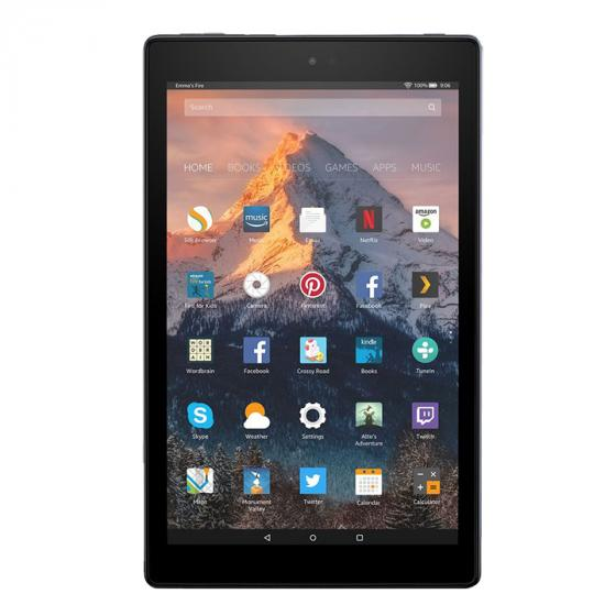 Amazon Kindle Fire HD 10 Tablet, 1080p Full HD Display, 32 GB, Black—with Special Offers