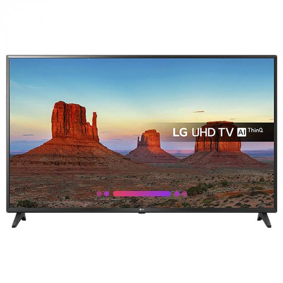 LG 55UK6200PLA 55-Inch 4K UHD HDR Smart LED TV with Freeview Play (2018 Model) - Black [Energy Class A+]