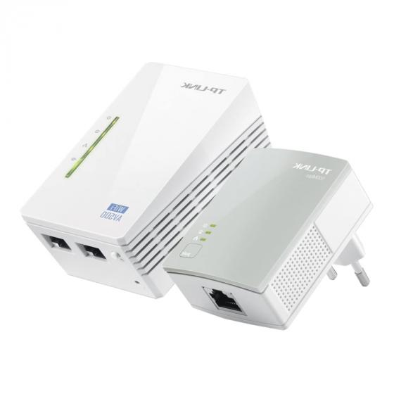 TP-LINK TL-WPA4220KIT (AV500) AV500 Powerline WiFi