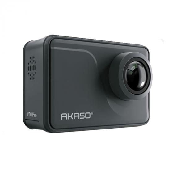AKASO V50 Pro Action Camera (4K/30fps, 20MP, EIS, Touch Screen, WiFi, Waterproof)