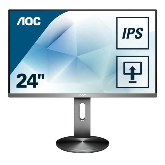 AOC I2490PXQU Widescreen IPS LED Multimedia Monitor