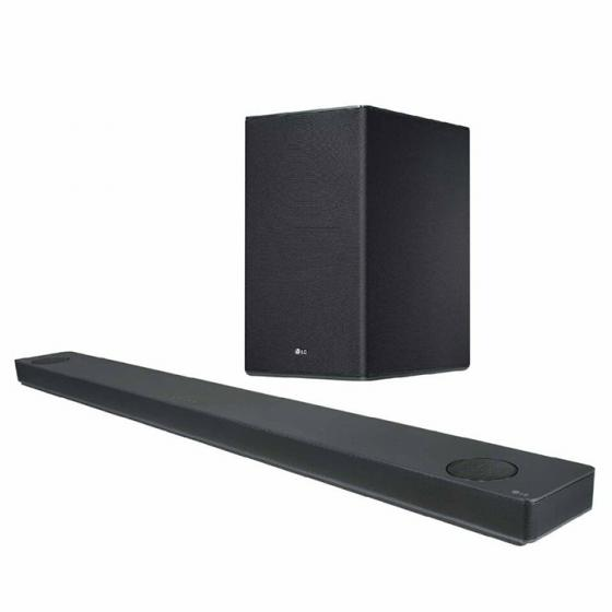LG SK10Y 5.1.2 Channel Hi-Res Audio Soundbar with Meridian Technology