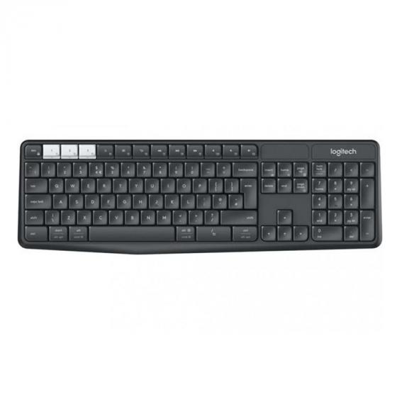 Logitech K375S (920-008177) Multi Device Wireless Keyboard - Graphite/White