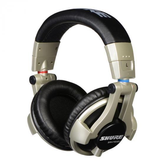 Shure SRH750DJ Professional Closed-back DJ Headphones