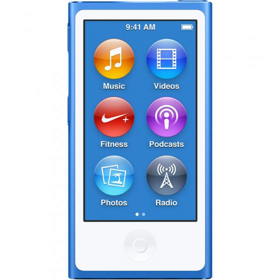 Apple iPod Nano (7th Generation) vs Apple iPod Shuffle