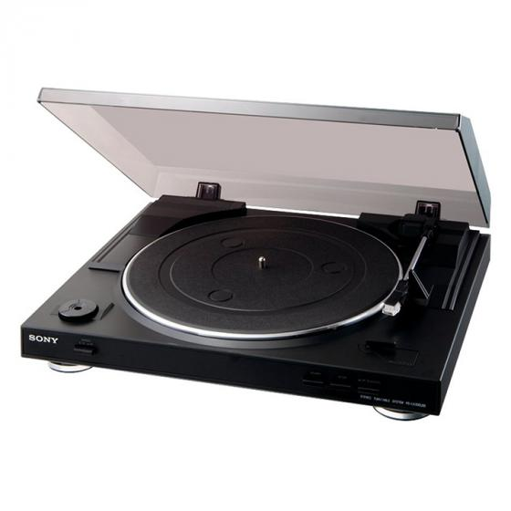 Sony PS-LX300USB Turntable with Diamond Stylus and USB Connection, Black