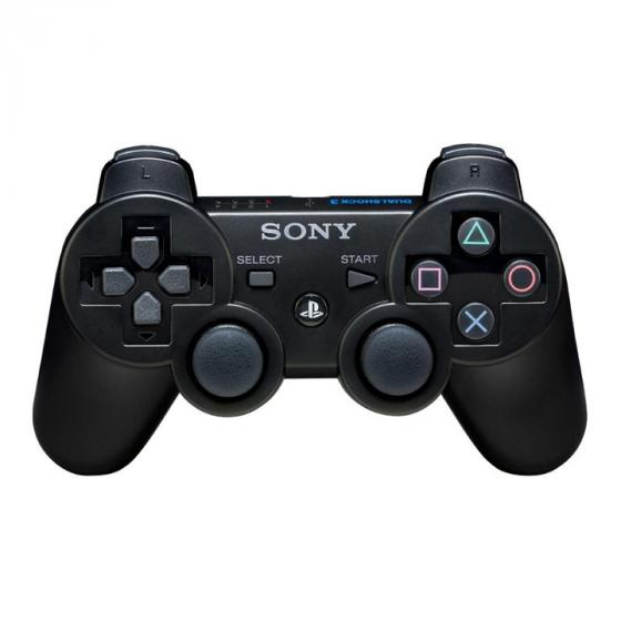 Sony DualShock 3 PS3 Controller Black