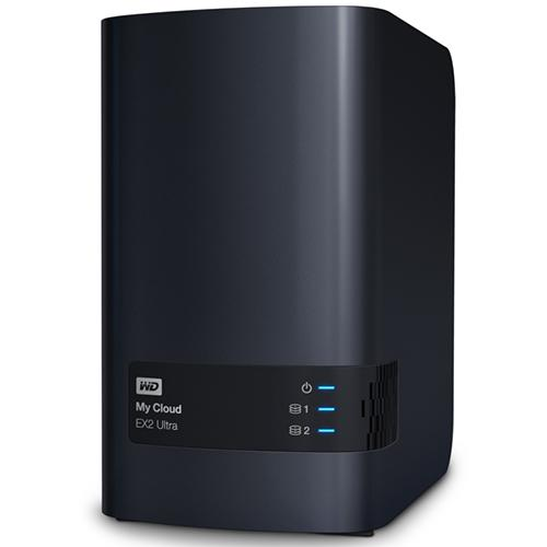 WD My Cloud Ex2 Ultra Network Attached Storage