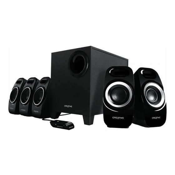 Creative Inspire T6300 Surround Speaker System with Wired Remote