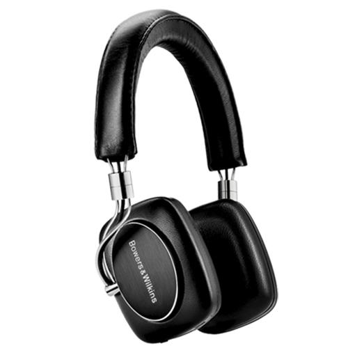 Bowers & Wilkins P5 Bluetooth On-Ear Headphones - Black