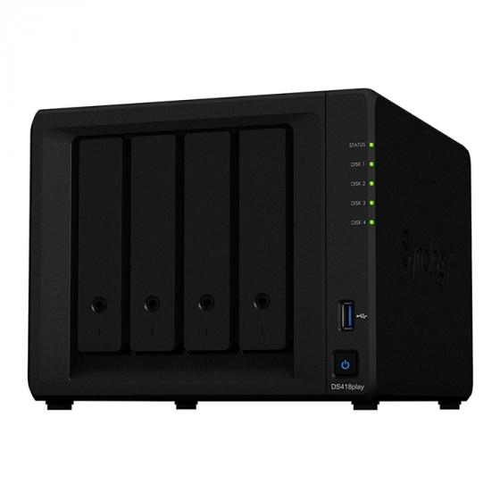 Synology DS418play 4TB NAS Solution