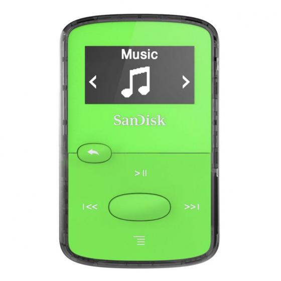 SanDisk Clip Jam 8GB MP3 Player Green