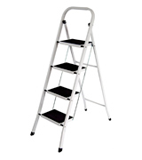 Home Vida 333137 Steel Portable Folding Heavy Duty Ladder