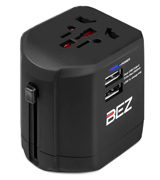 BEZ A1822 Worldwide Travel Adapter