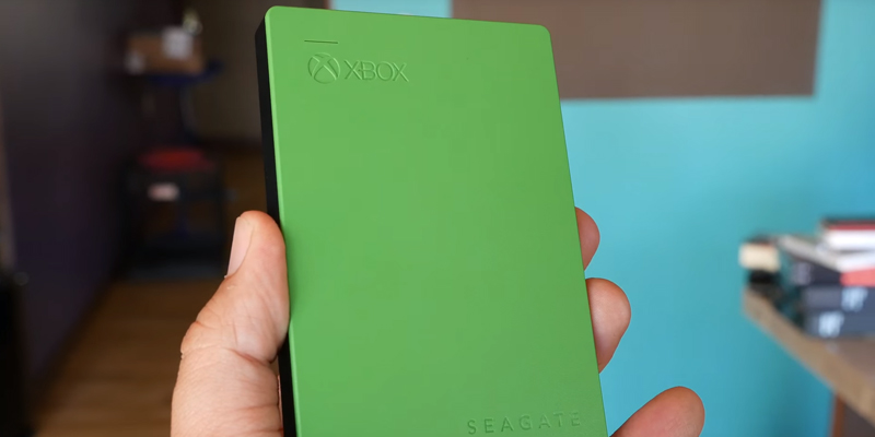Seagate Game Drive for Xbox One in the use