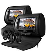 Sonic Audio HR-7 Leather-Style Car DVD Headrests