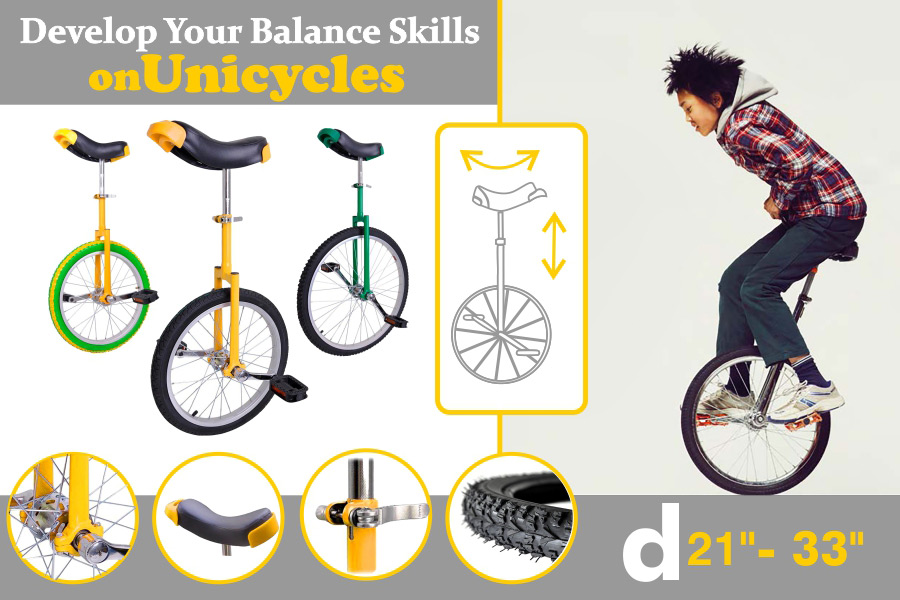 Comparison of Unicycles