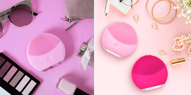 Detailed review of FOREO F5487 The LUNA mini 2 uses the power of T-Sonic pulsations to effectively cleanse deep below the skin's surface